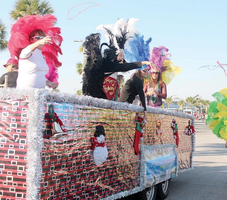 gulf breeze christmas parade 2020